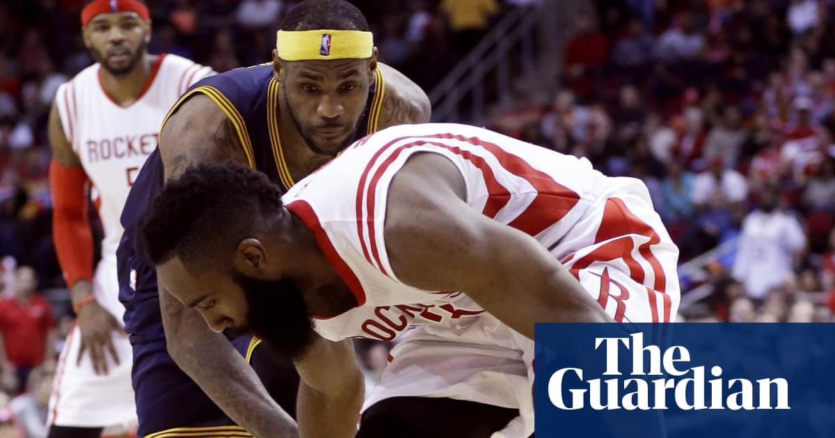 0481560157cf67 Harden kicks LeBron below the belt – and other painful NBA moments ...