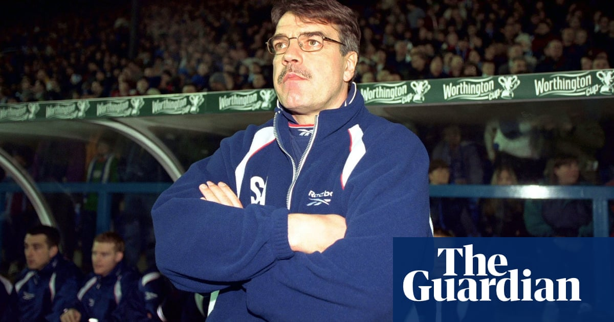 In Praise Of Sam Allardyce The Manager Who Gave Bolton The Time Of Their Lives Sam Allardyce The Guardian