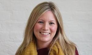 Pamela Butchart, winner of the Blue Peter best book award