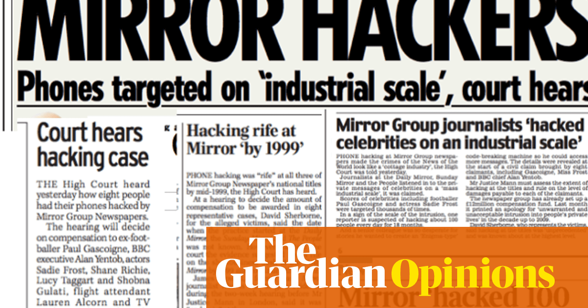 Mirror group phone hacking is not getting headlines it deserves