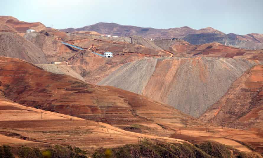 North Kore mine iron ore