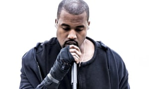 Kanye West performing on the Jonathan Ross Show in February 2015