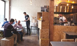 Silo: 'This rugged building on the fringes of Brighton's North Laines purports to be the UK's first zero-waste restaurant.'