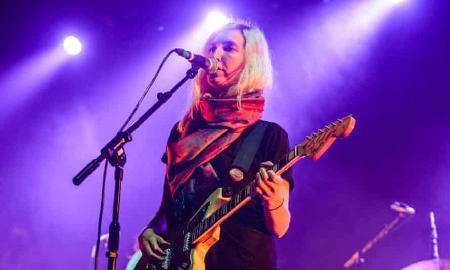 Moody blue:  Emily Kokal performs on stage at Brixton Academy in 2013.