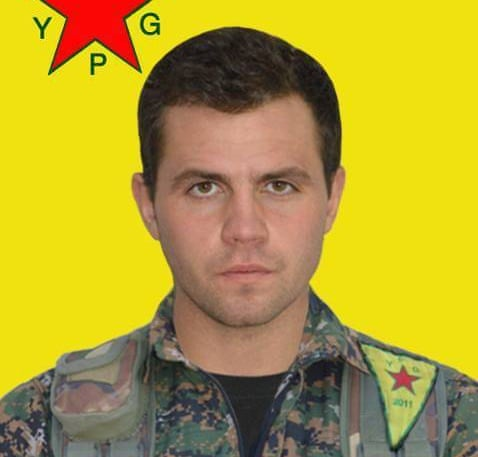 The ex-Royal Marine, named as Konstandinos Erik Scurfield, who was killed fighting for the Peshmerga in northern Iraq.