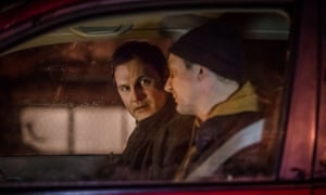 David Morrissey and Ian Hart in The Driver