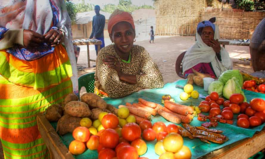 Abéné market, Senegal.