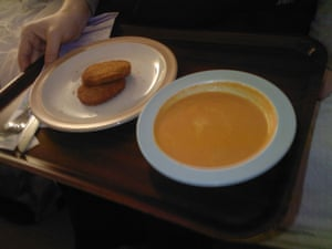 This was my wife's main dinner in a maternity hospital