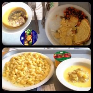 A hospital meal