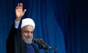 Iran's president, Hassan Rouhani