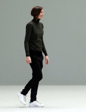 Phoebe Philo in Stan Smiths