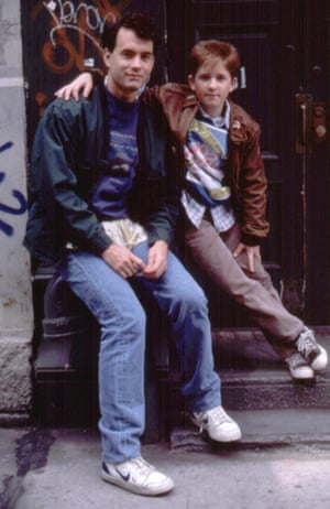 Tom Hanks (in kid's trainers) in Big