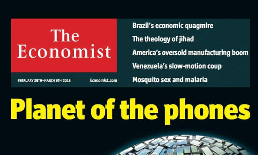 The front cover of The Economist