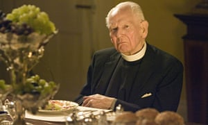 Gerald Sim as the rector in a Christmas special one-off episode of To the Manor Born in 2007. Photograph: BBC