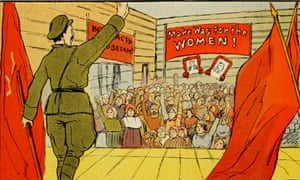 An image taken from Through the Russian Revolution by Albert Rhys Williams, published in 1921.