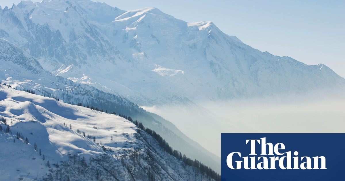 Why does Chamonix have some of the worst air pollution in