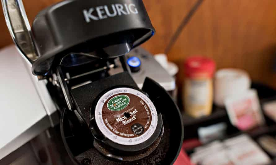A K-Cup capsule … never knowingly recycled.
