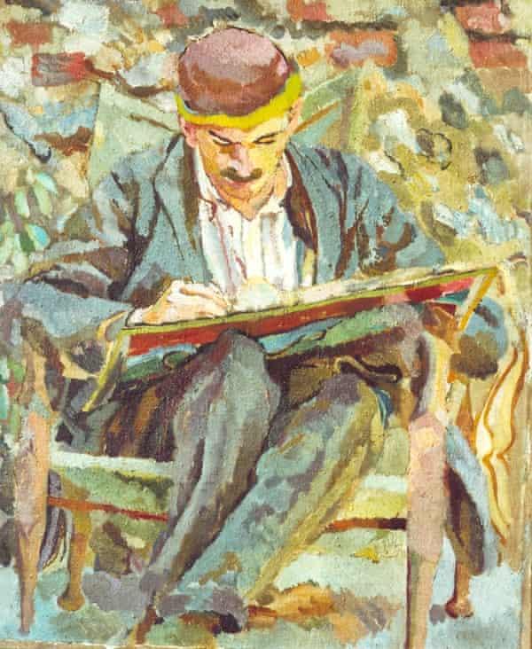 A painting of John Maynard Keynes by Duncan Grant (1917). Photograph: Estate of Duncan Grant, courtesy of Charleston Trust
