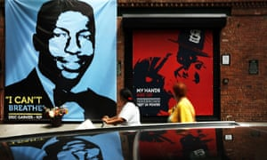 Eric Garner Mike Brown mural