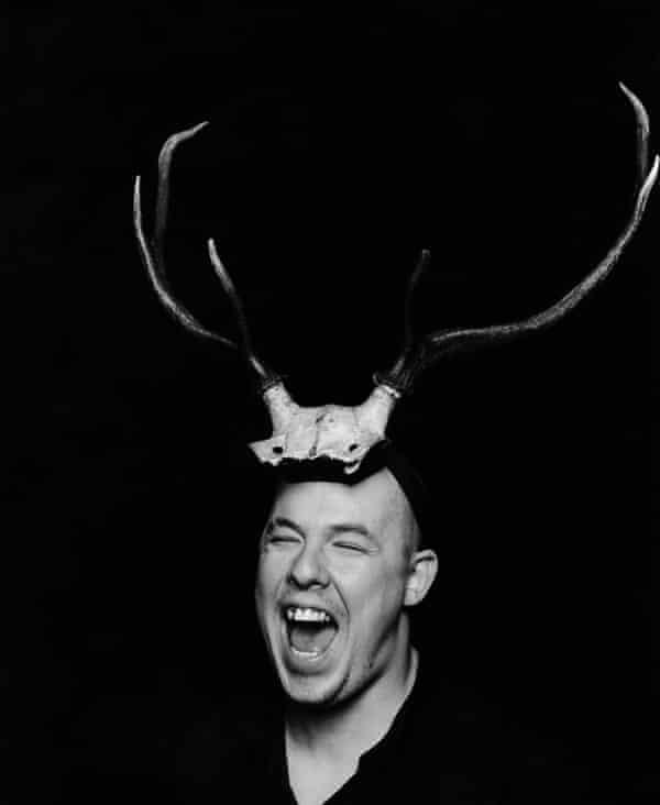 Alexander McQueen Antlers. Photograph: Marc Hom