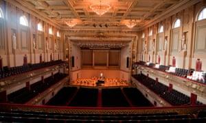 Symphony Hall, Boston.