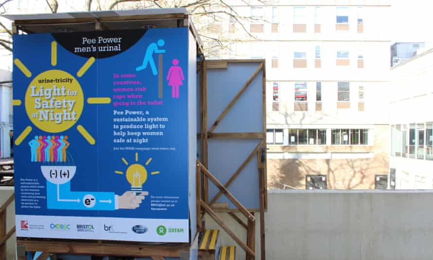 A toilet at the University of the West of England is proving urine can generate electricity.