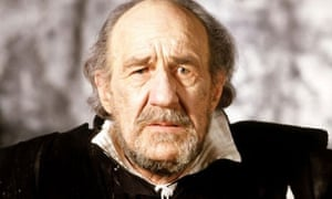 Michael Hordern as KIng Lear in Miller's 1982 production