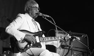 Pops Staples performs 06/08/1986 at Chicago Blues Fest, Chicago, Il, USA