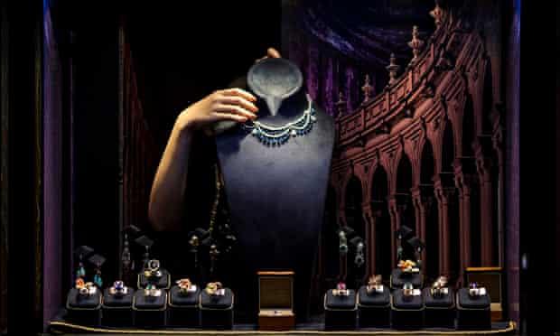 display at Hong Kong international jewellery show