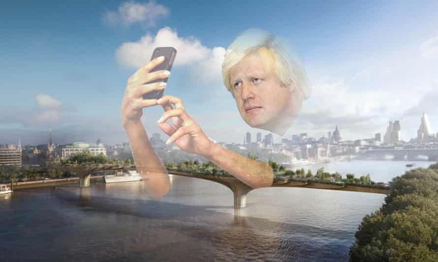 The Boris bridge? … 'The mayor's focus has always been on glitzy vanity projects rather than what London actually needs'. Image: Claire Perrault/WCDG