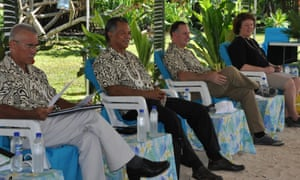 john Key on pacific visit