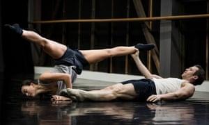 Sydney dancers Chloe Leong and David Mack.