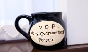 A mug in  Dr Veena Jha's consulting room.