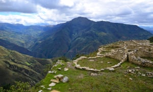 The view from Kuelap, Peru.