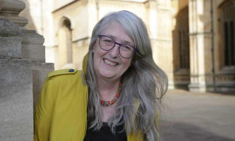 Mary Beard at The Sheldonian Theatre, Oxford.