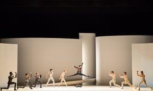 Northern Ballet dancers in Les Ballets de Monte Carlo's Romeo and Juliet
