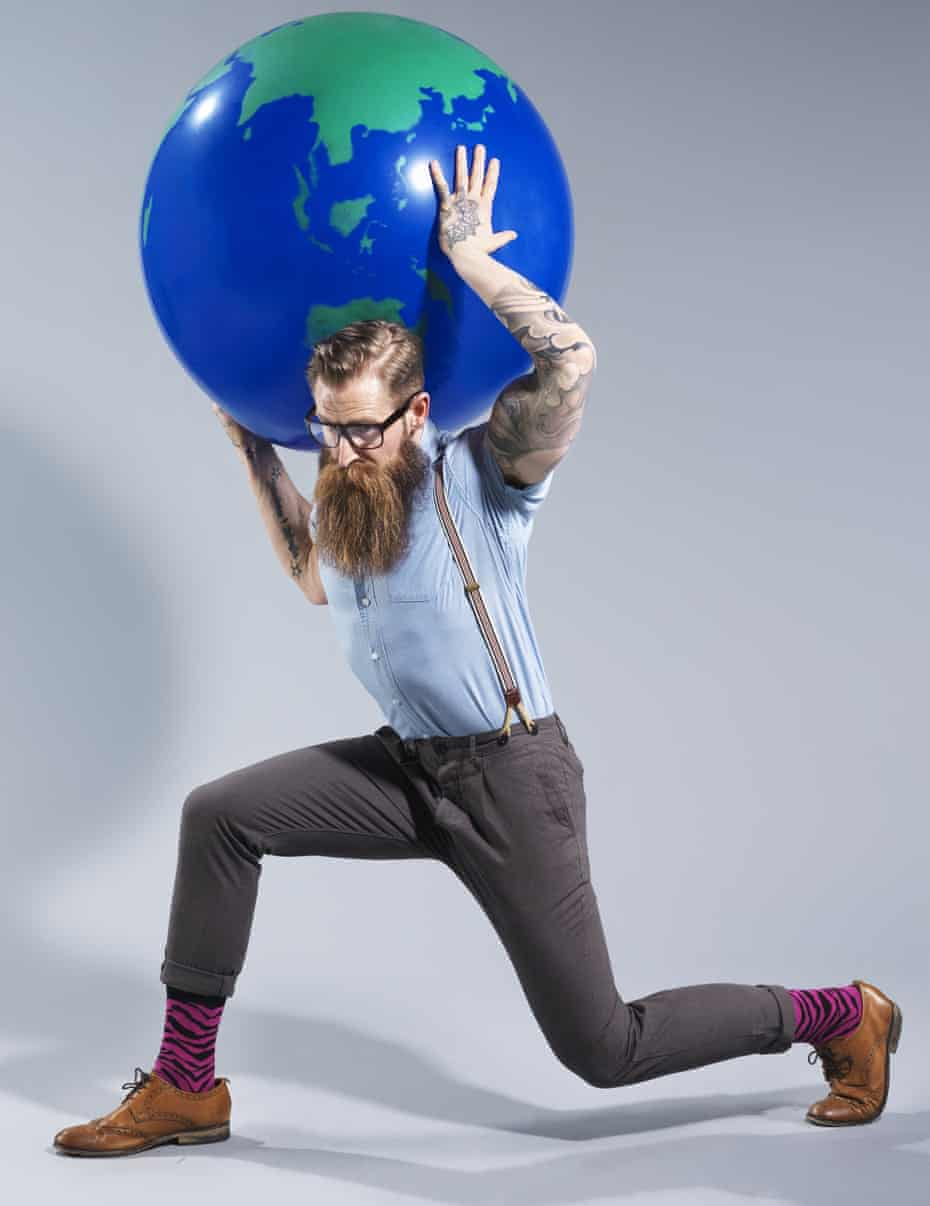 Hipsters modelled by Jimmy 'Bear Face' Woodshot for the Observer