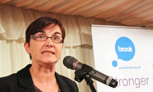 Eve Martin chair of the charity Brook