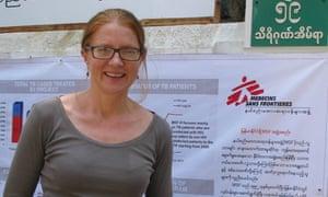 Vickie Hawkins general director of MSF UK