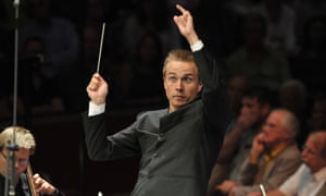 Vasily Petrenko conducting