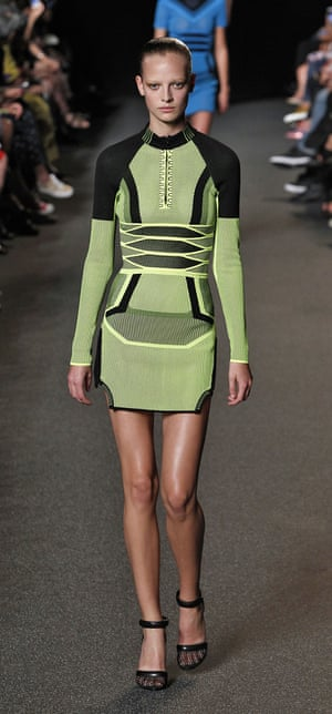 From the spring/summer 2015: the ultimate party dress for the Sneakerhead generation inspired by trainer design