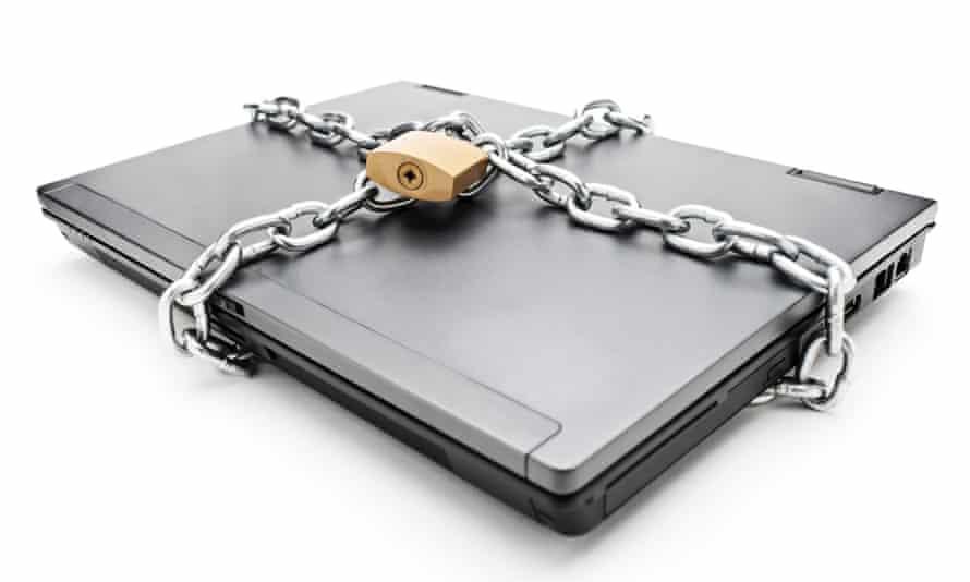 laptop padlock