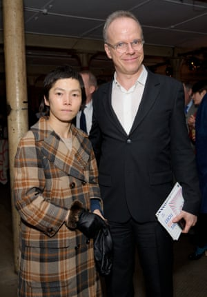Obrist with his partner, South Korean artist Koo Jeong-A.