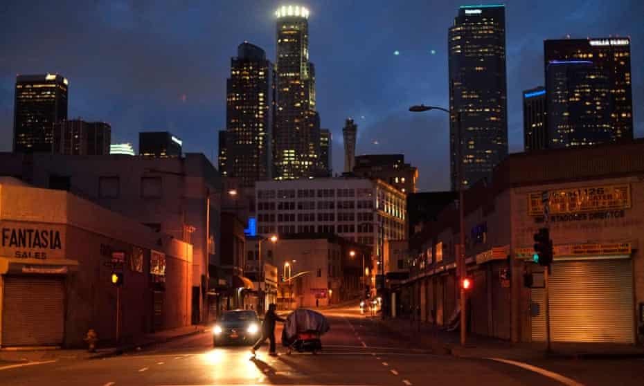 Skid Row overlooked by the rest of downtown LA: 'The contrast is shockingly stark.'