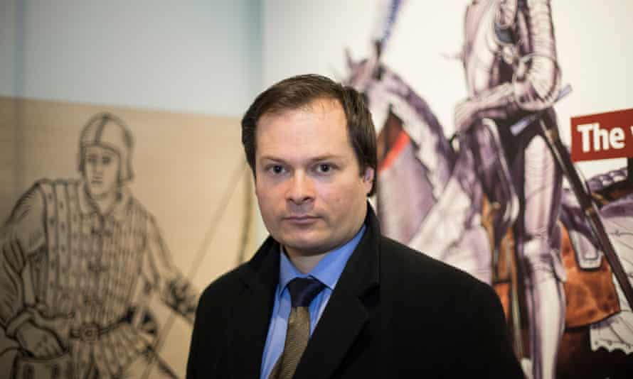 Toby Capwell, curator of arms and armoury at the Wallace Collection in London, and Richard III fanatic.