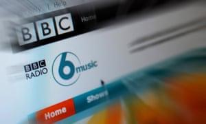 BBC 6Music online