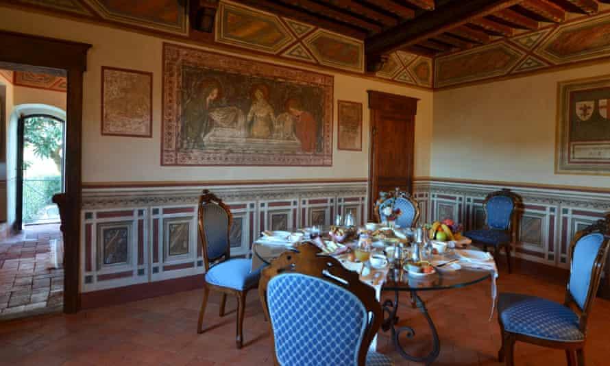 Canonica di Vertine, Tuscany