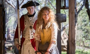 MyAnna Buring and Adam Nagaitis in Jimmy McGovern's Banished