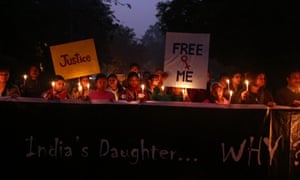 One of the candle-lit vigils held across India to protest about the death of Jyoti Singh.