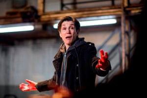 Harriet Walter as Brutus in theall-female production of Julius Caesar atthe Donmar Warehouse.